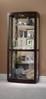 howard miller 680 395 bradington curio cabinet