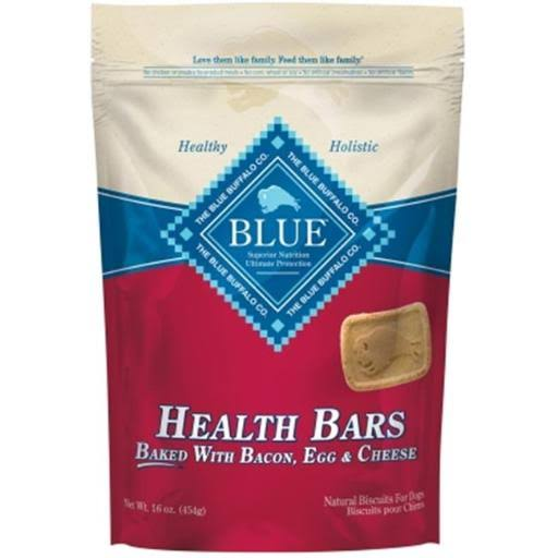 Blue Buffalo Health Bars for Dogs - Baked with Bacon, Egg and Cheese, 16oz
