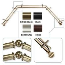 Umbra Cappa Curtain Rod Brass by Curtain Rods U0026 Hardware For Less Overstock Com