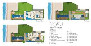 100 Modern Beach House Floor Plans Noku Plan Elite Havens Luxury Villa Rentals