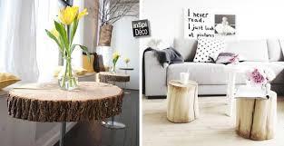 deco tronc d arbre un tronc devient design 30 idées pour vous inspirer