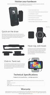 Lifeproof Belt Clip with QuickMount for iphone smartphone and android