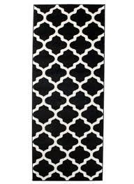 teppiche teppichböden läufer schwarz marokkanisch designer