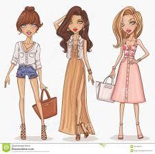Drawn Girl Fashion 6