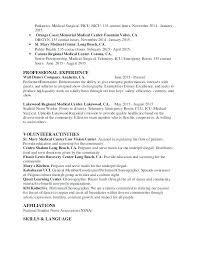 Nurse Resume Example University Medical Surgical Neonatal Sample Nicu