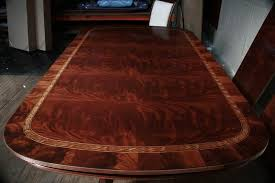 Mahogany Dining Room Table Best With Image Of Design New On Gallery