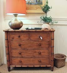 Custom Faux Bamboo Dresser