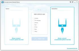 MobileTrans Wel e Interface
