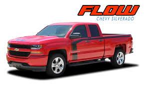100 Chevy Decals For Trucks Silverado Hood Door Stripe Vinyl Graphic Decal FLOW 20162018