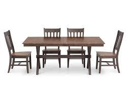 Hudson Park 5 Pc 72 X Base Rectangle Dining Room Set