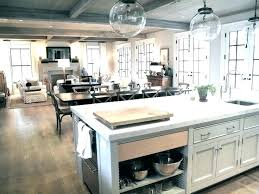 Kitchen And Dining Room Combo Open Floor Plan Living Best Plans Ideas On