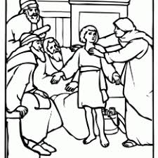 Jesus At The Temple Age 12 Coloring Pages