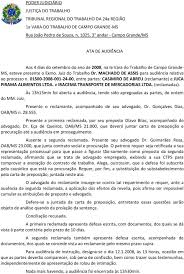 2ª RECLAMADA IRACEMA TRANSPORTE DE MERCADORIAS LTDA ADVOGADO