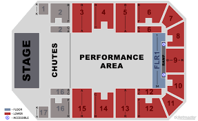 Cavs Floor Box Seats by Canton Memorial Civic Center Seating Diagrams
