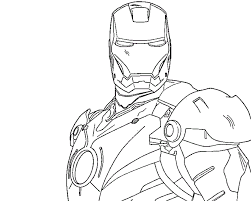 Avengers Coloring Pages Captain America Page
