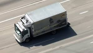 100 Coffee Truck Pursuit Driver Ditches Stumptown Runs Across Busy