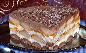 pfirsich torte ohne backen