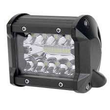 4in 60W 3-Row 10800LM LED Work Light Bar Off-Road Vehicle Spotlight ... Truck Lite Led Work Light 4 81520 Trucklite Pair 27w Epistar Square Offroad Flood Lamp Boat Jiawen Car Styling 30w Dc12 24v For Safego 2pcs Work Lights 12v 24v 27w Led Lamps Car Trucks Adds White Auxiliary To Signalstat Lineup X 6 High Powered Beam 1200 Lumens Riorand Water Proof 2 60 Degree Luxurius Lights For Trucks F21 In Stunning Selection With Inch Pod Cree 60w Tri Row Bar Combo 2x 18w Pods Spot Atv Jeep Ute Great 64 On Definition 12 Inch 72w Vehicle