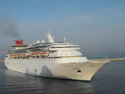 Cruise Ship Sinking Santorini by Cruise Ships Ship Spotter Steve