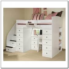 Space Saver Desk Uk by Captivating Bunk Bed With Stairs And Desk Splendid Space Saving