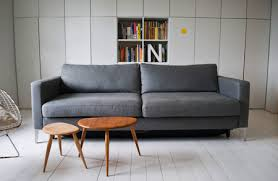 zinc grey linen for this karlstad sofa bed it s a cover up