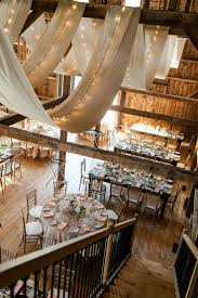 Rustic Wedding Ideas Barn Drapey Decor Idea On