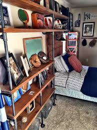 Soccer Themed Bedroom Photography by Best 25 Vintage Sports Rooms Ideas On Pinterest Sports Room
