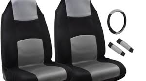 Pilot Automotive Neoprene Black Seat Covers - Pep Boys Video Gallery