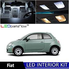 ledpartsnow 2012 2017 fiat 500 led interior lights