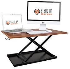 Kangaroo Standing Desk Imac by Amazon Com Airrise U2013 Standing Desk Converter Adjustable Height
