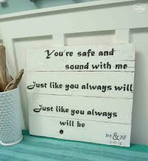 Tv Wall Happy Housie Song Lyrics Wedding Gift Diy Easy Pallet Signs Sign