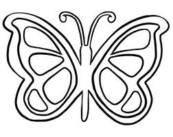Impressive Free Printable Butterfly Coloring Pages Colorings Design Ideas