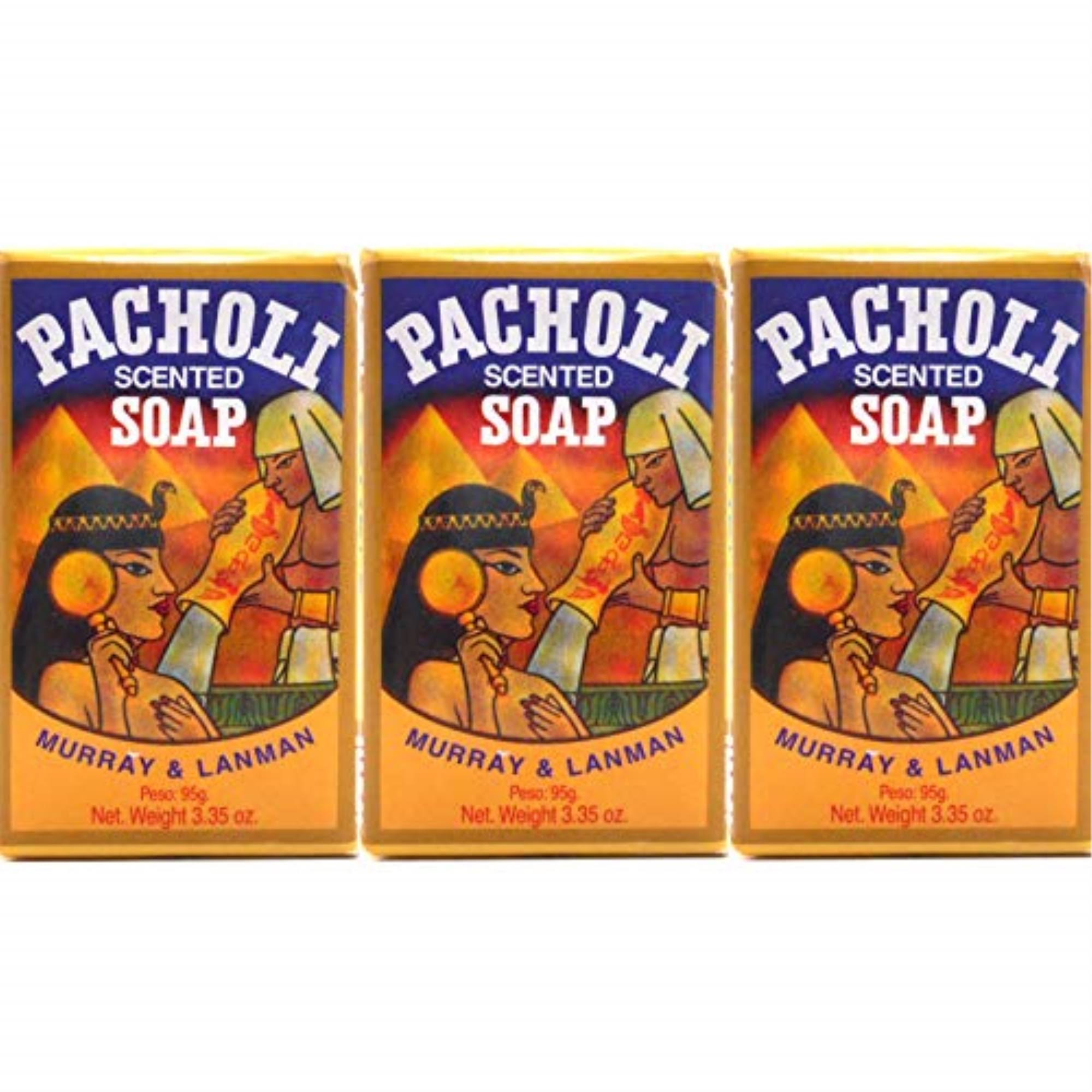 Murray and Lanman Pacholi Scented Soap - 3.35oz