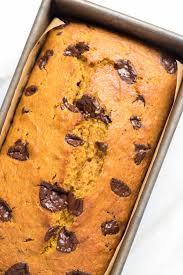 Easy Pumpkin Desserts With Few Ingredients by Chocolate Orange Pumpkin Bread Recipe