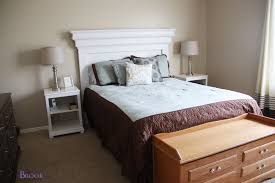 Ana White Headboard King by Winsome Hand Made Headboards Together With Cedar Barn Wood Style