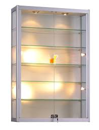 wall display cabinet with lights cabinet design ideas