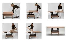 table basse relevable spitpod