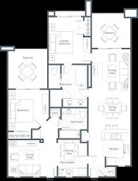 100 The Willow House Plan Westin Desert Villas Palm Desert Twobedroom Lockoff Villa