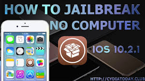 How to Jailbreak IOS 10 2 1 10 3 No puter NEW iPhone 5 6 6