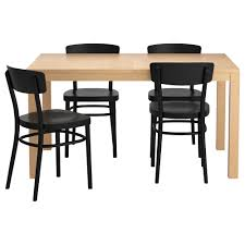 Kitchen Table And Bench Set Ikea by Bjursta Idolf Table And 4 Chairs Ikea