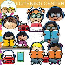 Listening Center Clip Art & Illustrations