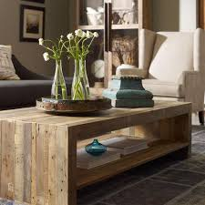 Beckwourth Coffee Table Rustic Reclaimed Wood In A Contemporary Design Artesanos Collection