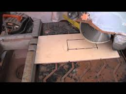 Sigma Tile Cutter Nz by Cutting An Outlet Hole Into A Tile Youtube