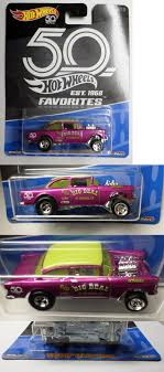 100 Vans Cars And Trucks And 180273 Hot Wheels 50Th Favorites B Case 55