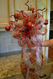 How To Make A Bow Tree Topper Christmas Ideas