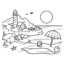Full Size Of Coloring Pagecoloring Page Beach It E2 80 99s The Busy Large Thumbnail