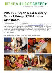 2014 2015 Archive Open Door Nursery School