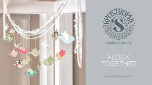Spring Garland DIY Crafts Easy Home Decor Flock