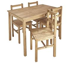 Buy HOME Raye Solid Wood Table & 4 Chairs - Natural At Argos.co.uk ... Kids Table And Chairs In Pine Woodnatural Kids 60 X 2 Kaubystorns Table 6 Chairs Antique Stain 201 Cm Ikea Rustic Seats 10 Recycled Reclaimed Wood With Natural Ikayaa Modern 5pcs Pine Wood Ding Set Kitchen Dinette Amazoncom Hcom 5 Piece Solid High Back Pcs Wunderbar Sheesham 8 Round Grey Side Silk Decor Elegant Bench For Inspiring Bedroom Fniture 4 White Natural Sold Annika Bistro Two Noa Nani Signature Design By Ashley Grindleburg 7 Rectangular 4d Concepts Urban Loft 3piece Breakfast