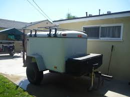Enclosed Cargo Trailer For Offroad Use